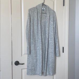 Old navy long open cardigan